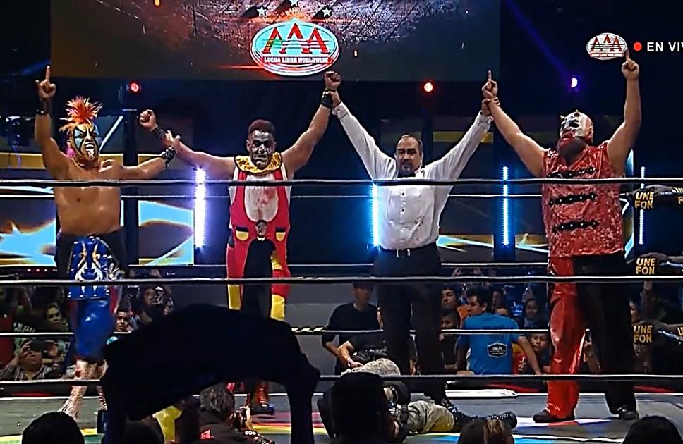 """AAA: """"Nacemos para luchar"""" Reencuentro de los Psycho Circus 3"""