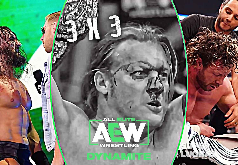 3x3 AEW Dynamite 26 de febrero 2020