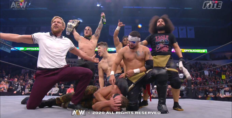 Ratings AEW y NXT
