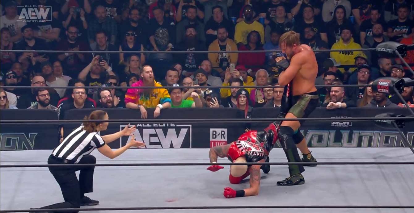 AEW REVOLUTION (29 de febrero 2020) | Resultados en vivo | Chris Jericho vs. Jon Moxley 6