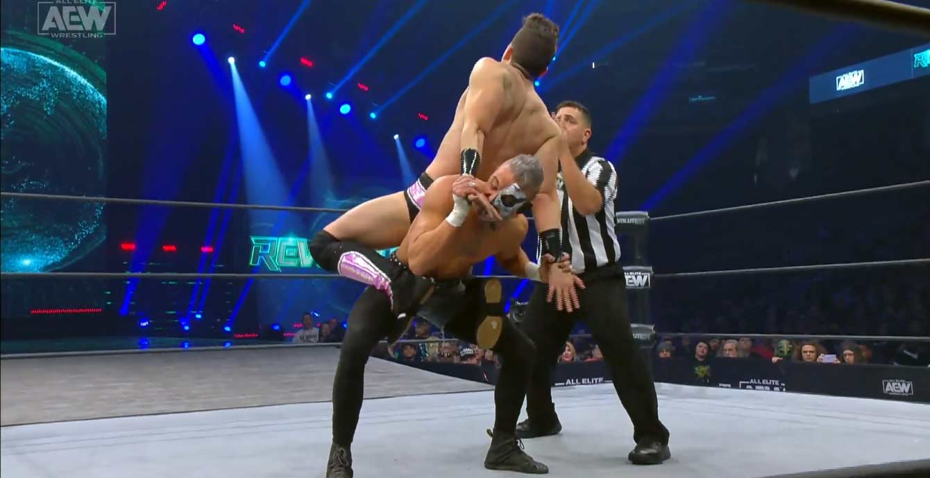 AEW REVOLUTION (29 de febrero 2020) | Resultados en vivo | Chris Jericho vs. Jon Moxley 15