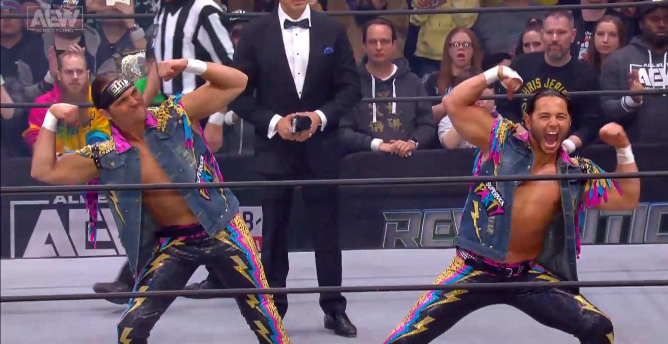 AEW REVOLUTION (29 de febrero 2020) | Resultados en vivo | Chris Jericho vs. Jon Moxley 21