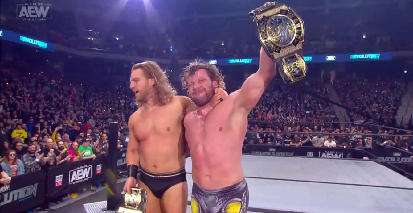 AEW REVOLUTION (29 de febrero 2020) | Resultados en vivo | Chris Jericho vs. Jon Moxley 44