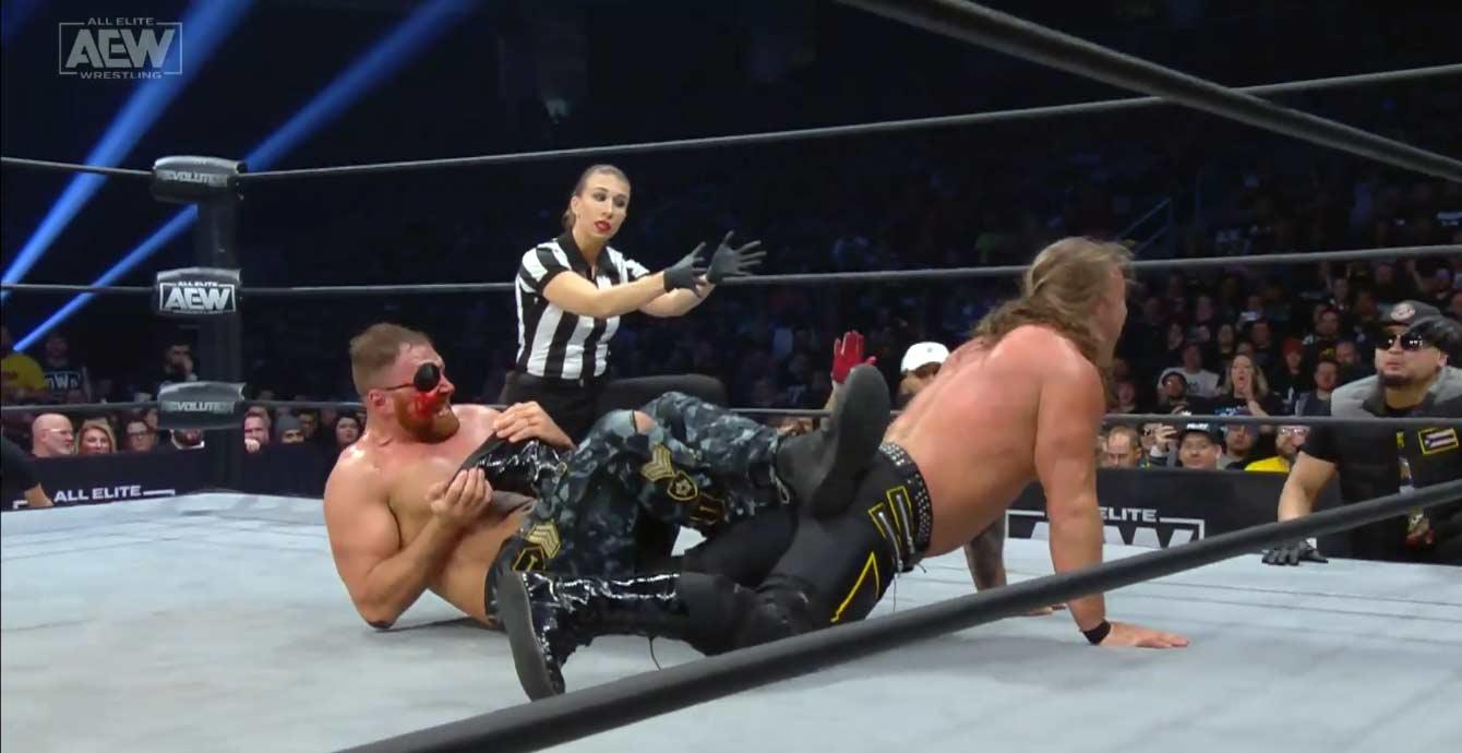 AEW REVOLUTION (29 de febrero 2020) | Resultados en vivo | Chris Jericho vs. Jon Moxley 101