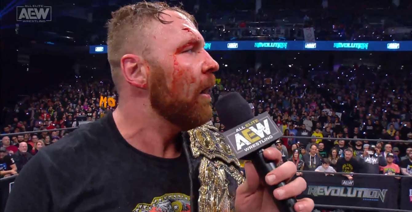 AEW REVOLUTION (29 de febrero 2020) | Resultados en vivo | Chris Jericho vs. Jon Moxley 110