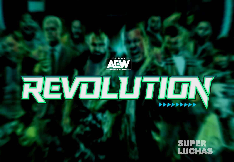 Logo AEW Revolution