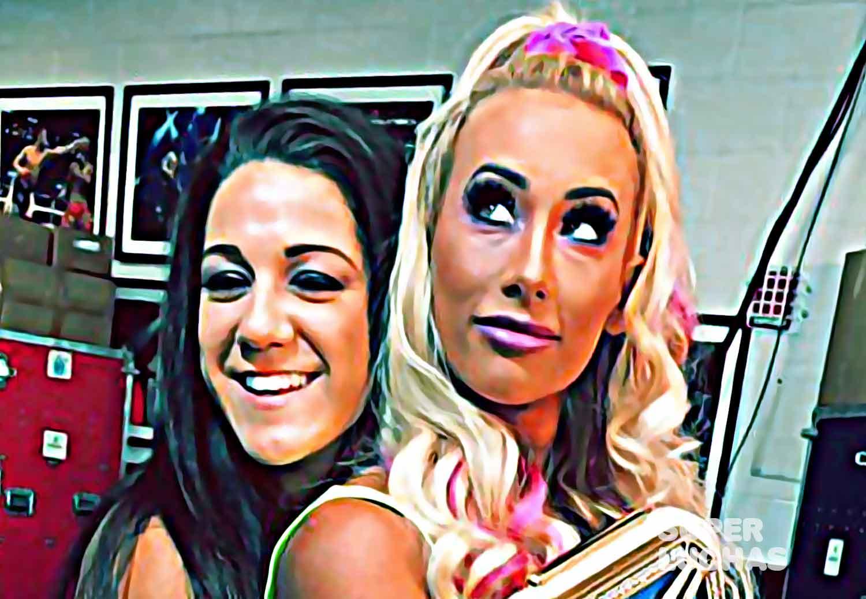 Bayley y Carmella
