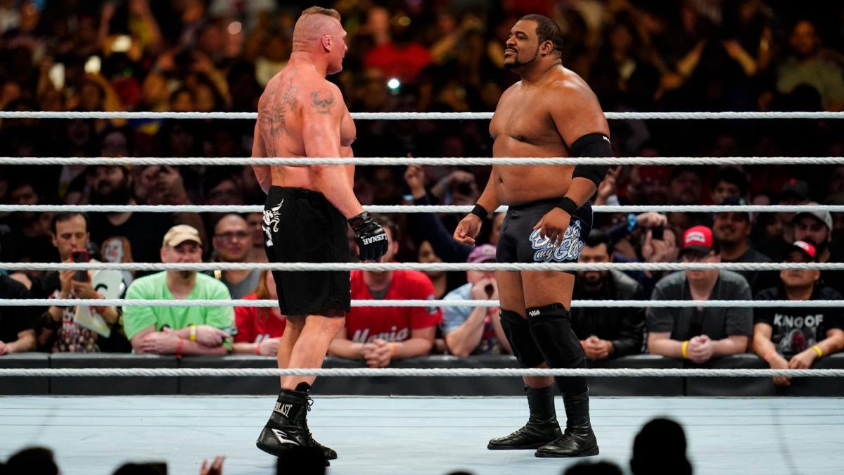 Keith Lee en WrestleMania 36