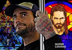CM Punk Seth Rollins