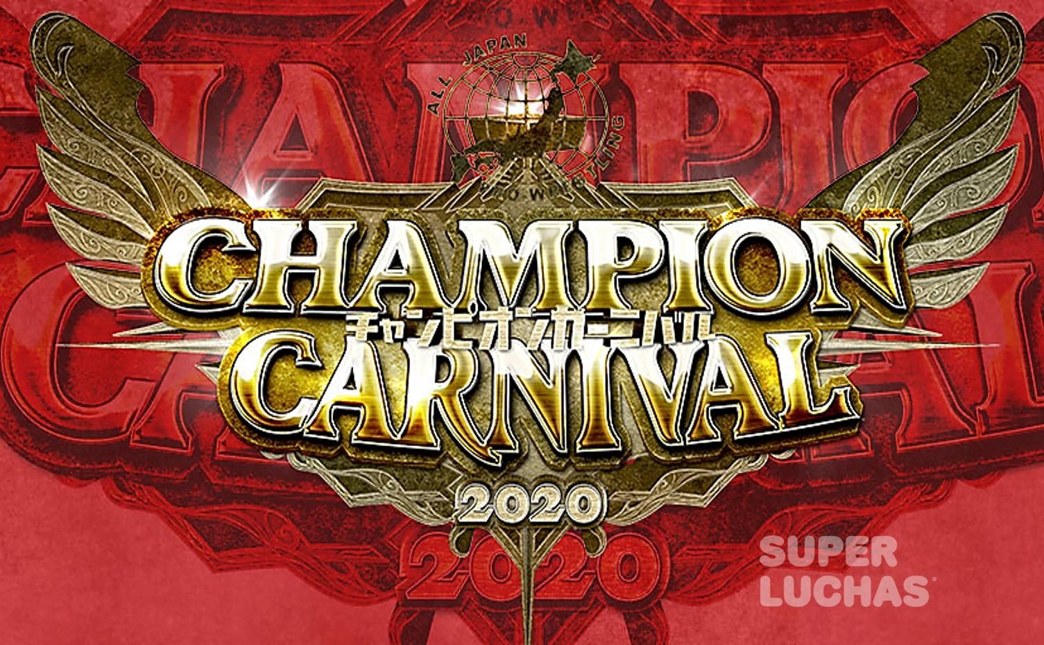 AJPW: Los participantes para el Champion Carnival 2020 3