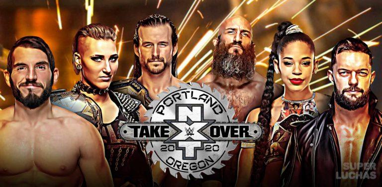 Resultados NXT TakeOver: Portland