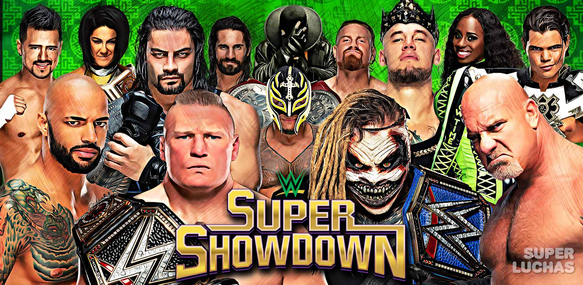 Resultados WWE Super ShowDown 2020