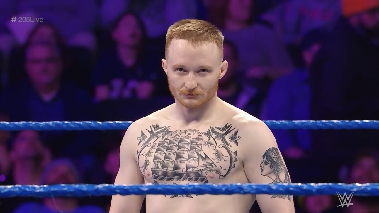 Jack Gallagher fue despedido de WWE