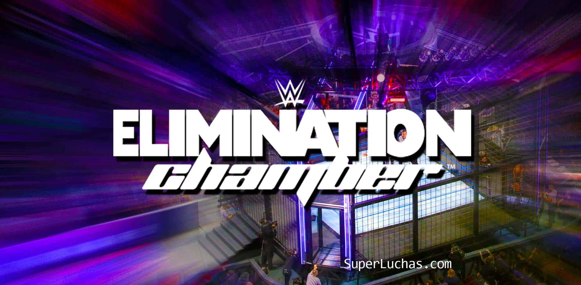 Cartel de Elimination Chamber 2020