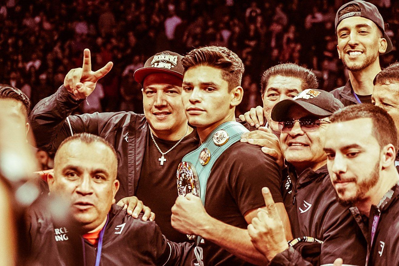 Ryan García retuvo su campeonato 35