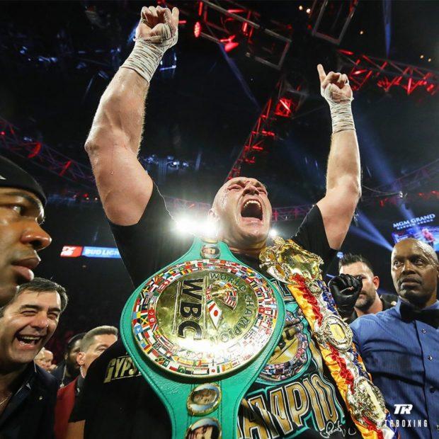 Fury noqueó a Wilder, es el nuevo campeón 2