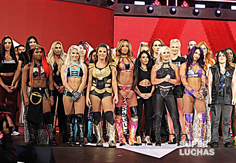 Las luchadoras de WWE hacen el #DontRushChallenge