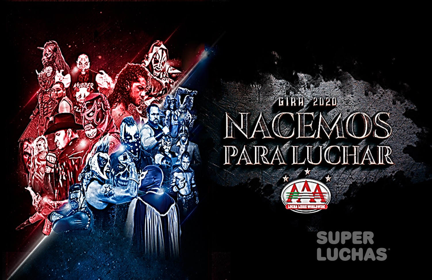"""AAA: """"Nacemos para luchar"""" llega a Cancún 1"""