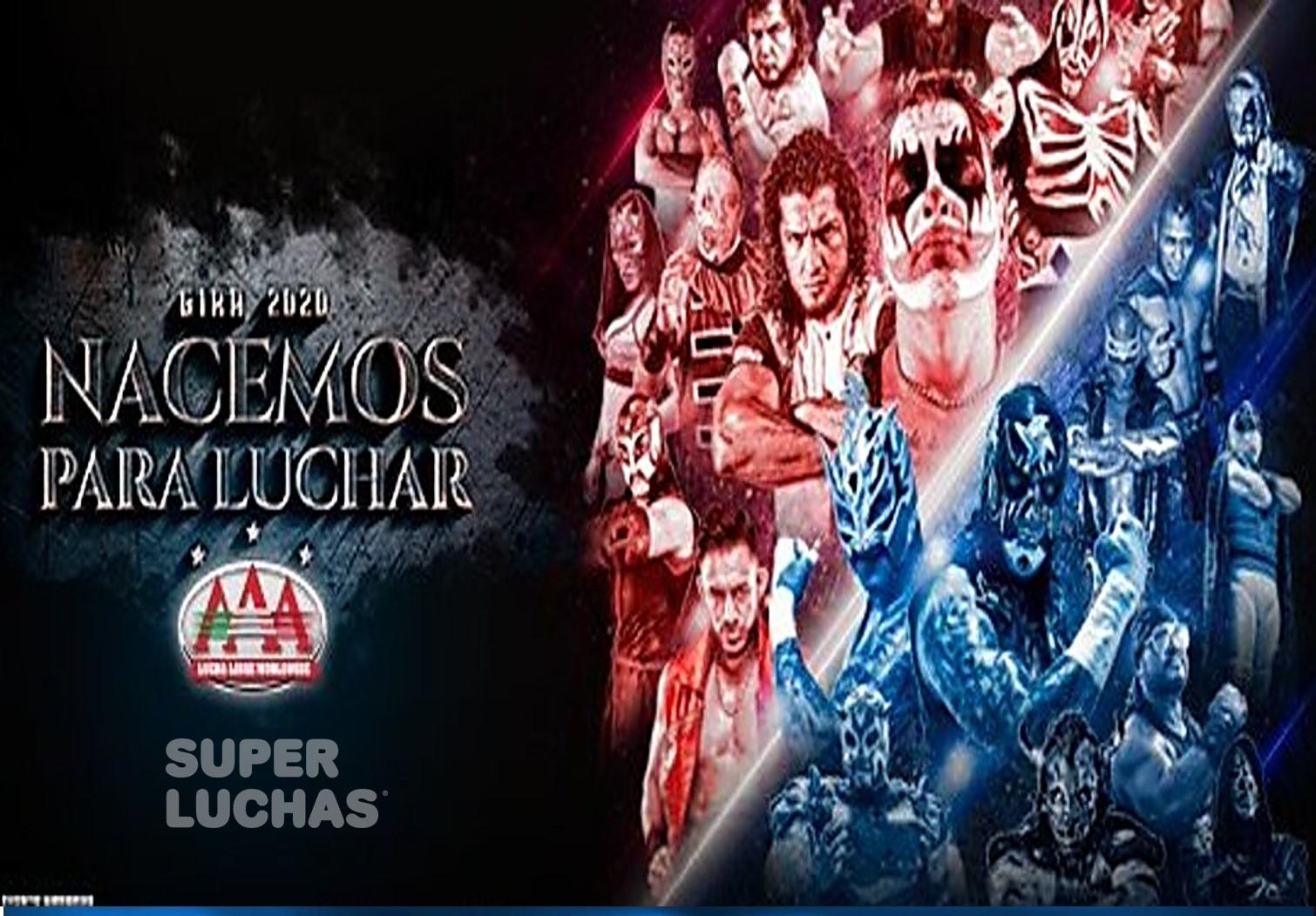 """AAA: """"Nacemos para Luchar"""" llega a Guadalajara 1"""