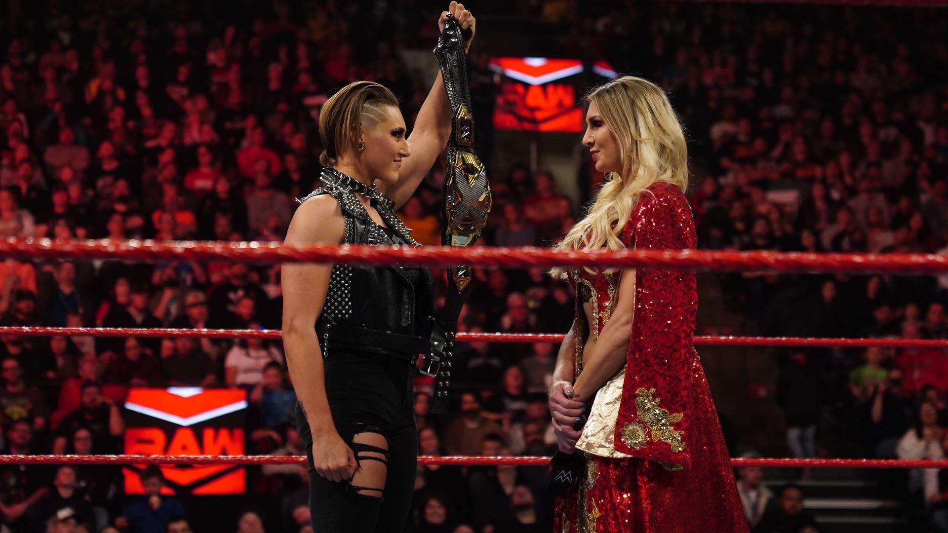 Charlotte Flair estuvo ausente
