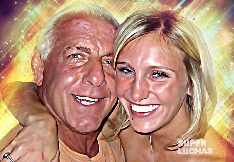 Ric Flair y Charlotte Flair