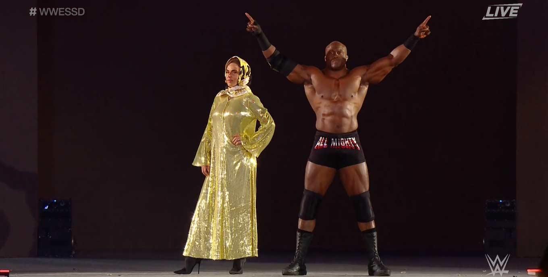 Lana en WrestleMania 36
