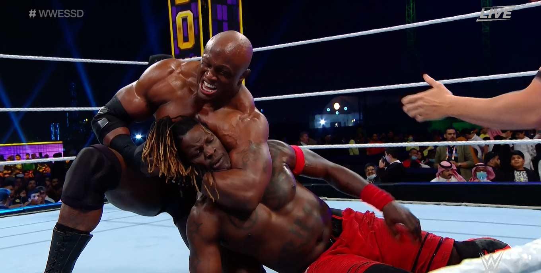 WWE SUPER SHOWDOWN 2020   Resultados en vivo   Goldberg vs. The Fiend 3