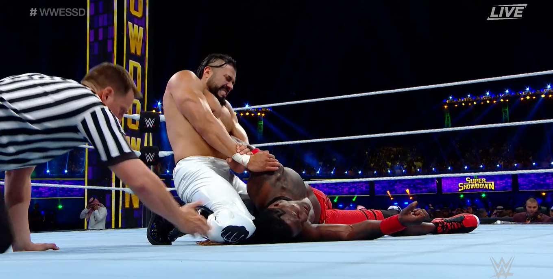 WWE SUPER SHOWDOWN 2020   Resultados en vivo   Goldberg vs. The Fiend 6