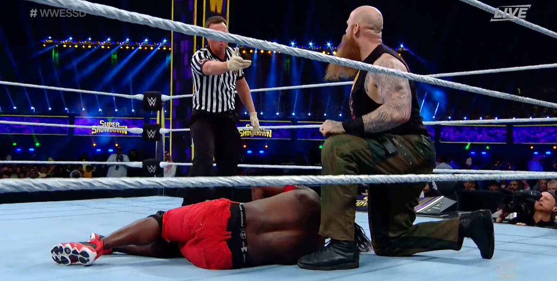 WWE SUPER SHOWDOWN 2020   Resultados en vivo   Goldberg vs. The Fiend 8