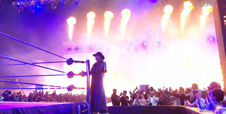 WWE SUPER SHOWDOWN 2020   Resultados en vivo   Goldberg vs. The Fiend 15