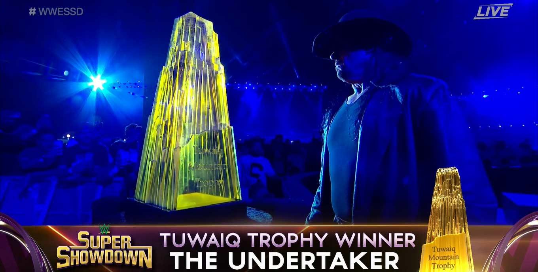 Super ShowDown 2020: Undertaker gana el Trofeo Tuwaiq