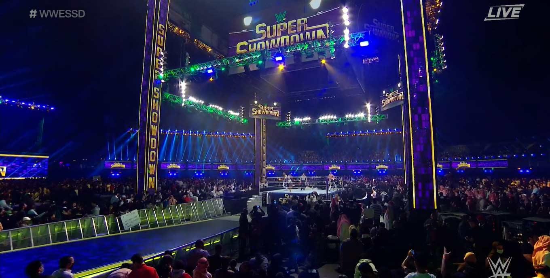 WWE SUPER SHOWDOWN 2020   Resultados en vivo   Goldberg vs. The Fiend 20