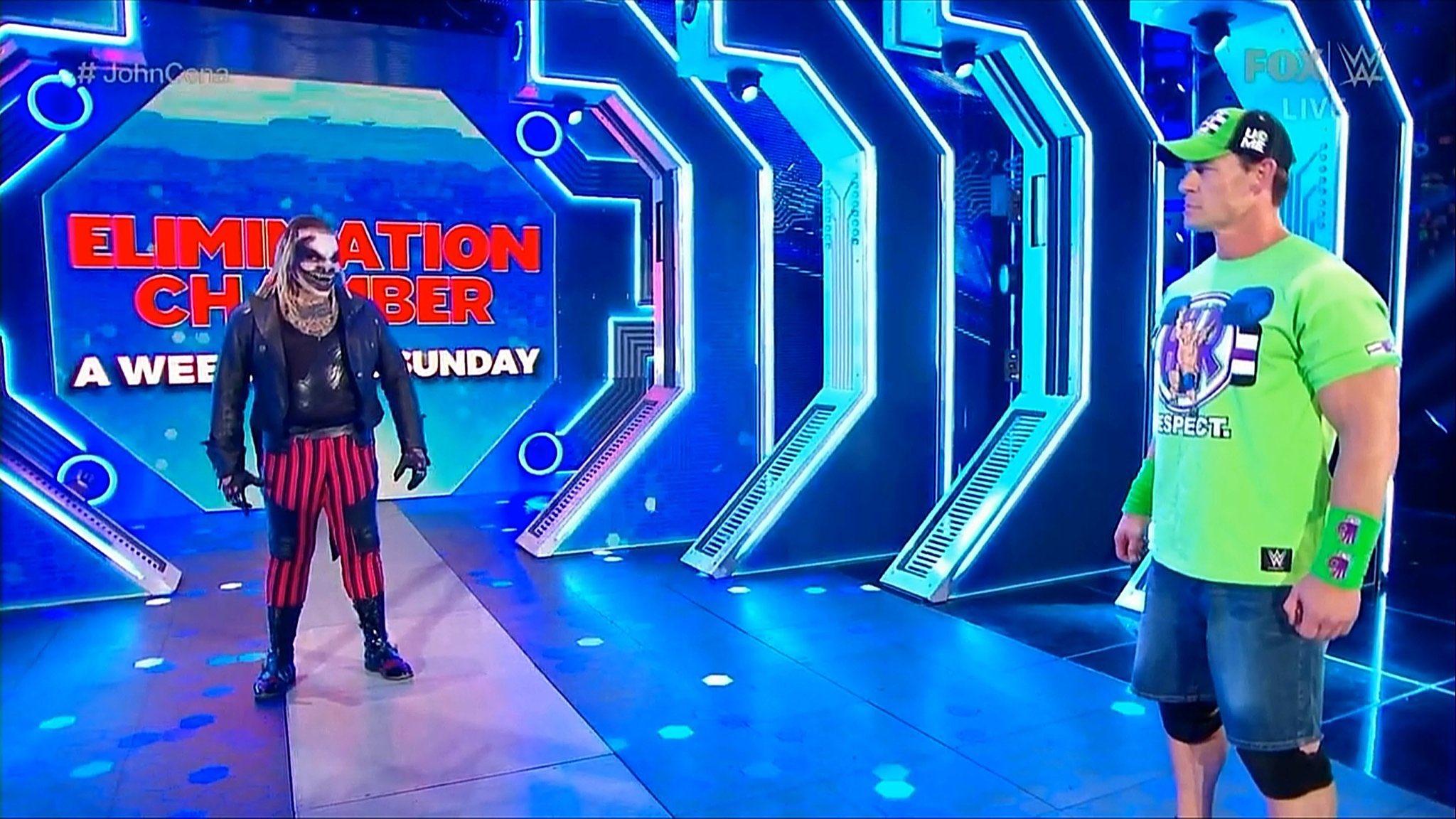 John Cena vs The Fiend
