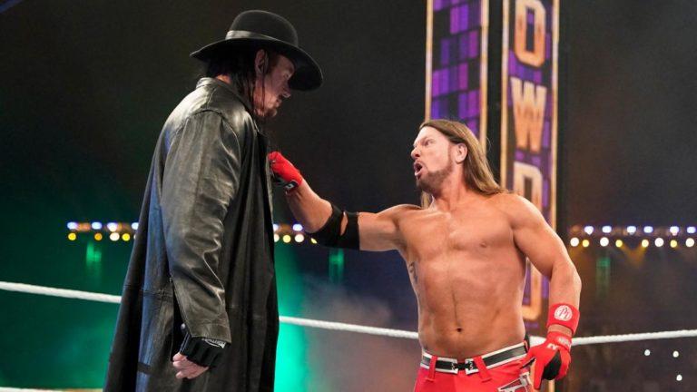 The Undertaker y AJ Styles carean en WWE Super ShowDown 2020 (27/02/2020) / WWE