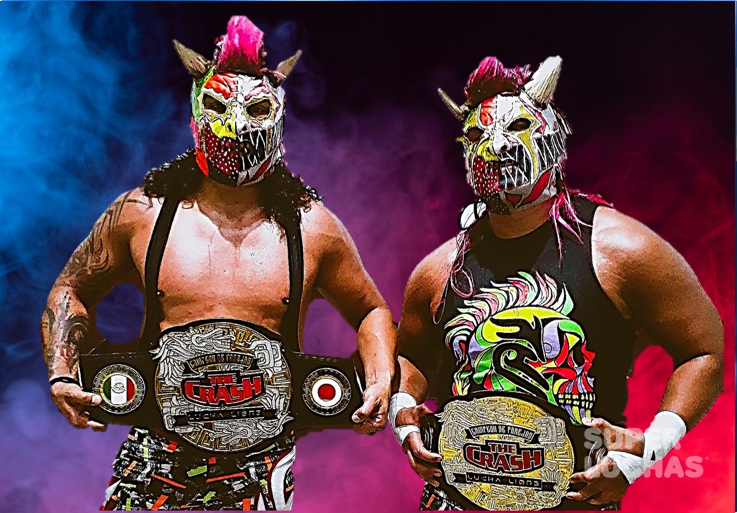 The Crash: Los Hermanos Trauma se coronan campeones 2
