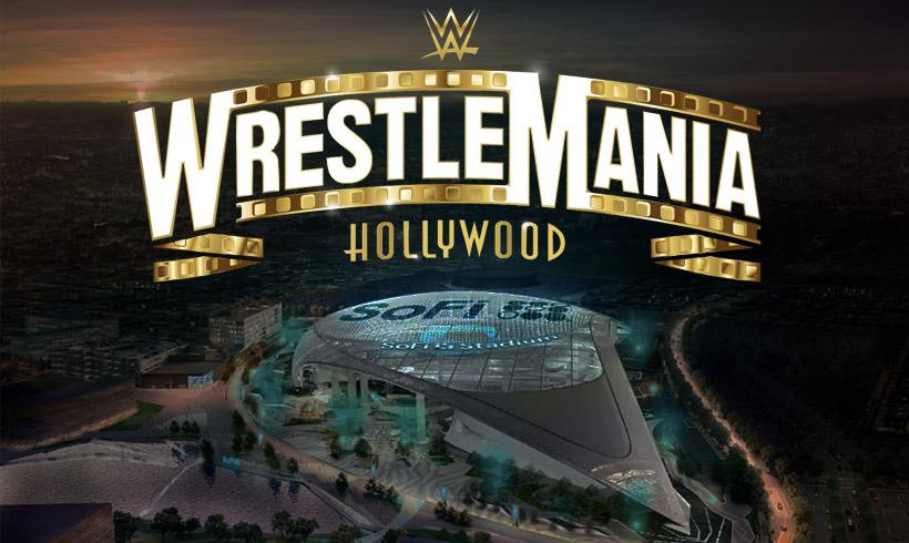 WWE WrestleMania 37, el 28 de marzo de 2021 desde el SoFi Stadium en Inglewood, Los Ángeles, California WrestleMania 37 será en marzo