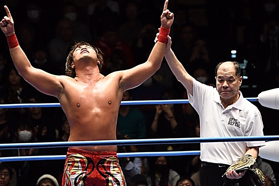"AJPW: ""Excite Series 2020"" La 10ma. defensa de Kento Miyahara 1"