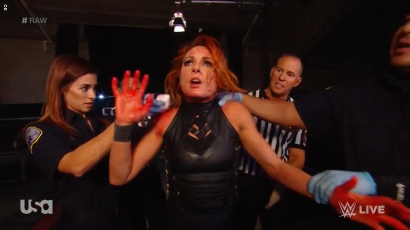 WWE RAW (10 de febrero 2020)   Resultados en vivo   Becky Lynch vs. Asuka 17