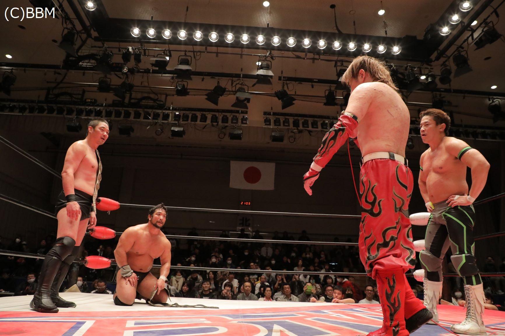 BJW: Daisuke Sekimoto y Kohei Sato defienden su título 13
