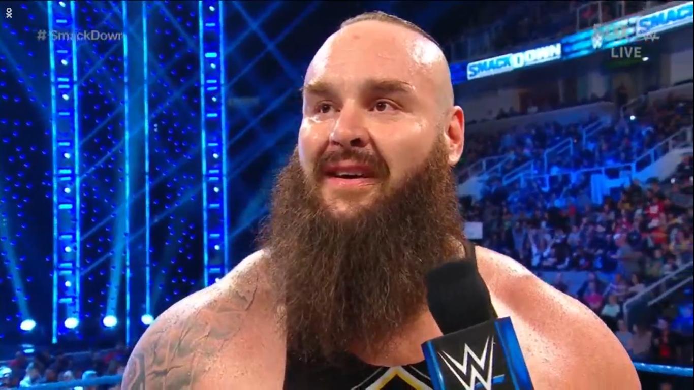 WWE SMACKDOWN (7 de febrero 2020) | Resultados en vivo | Goldberg regresa 30