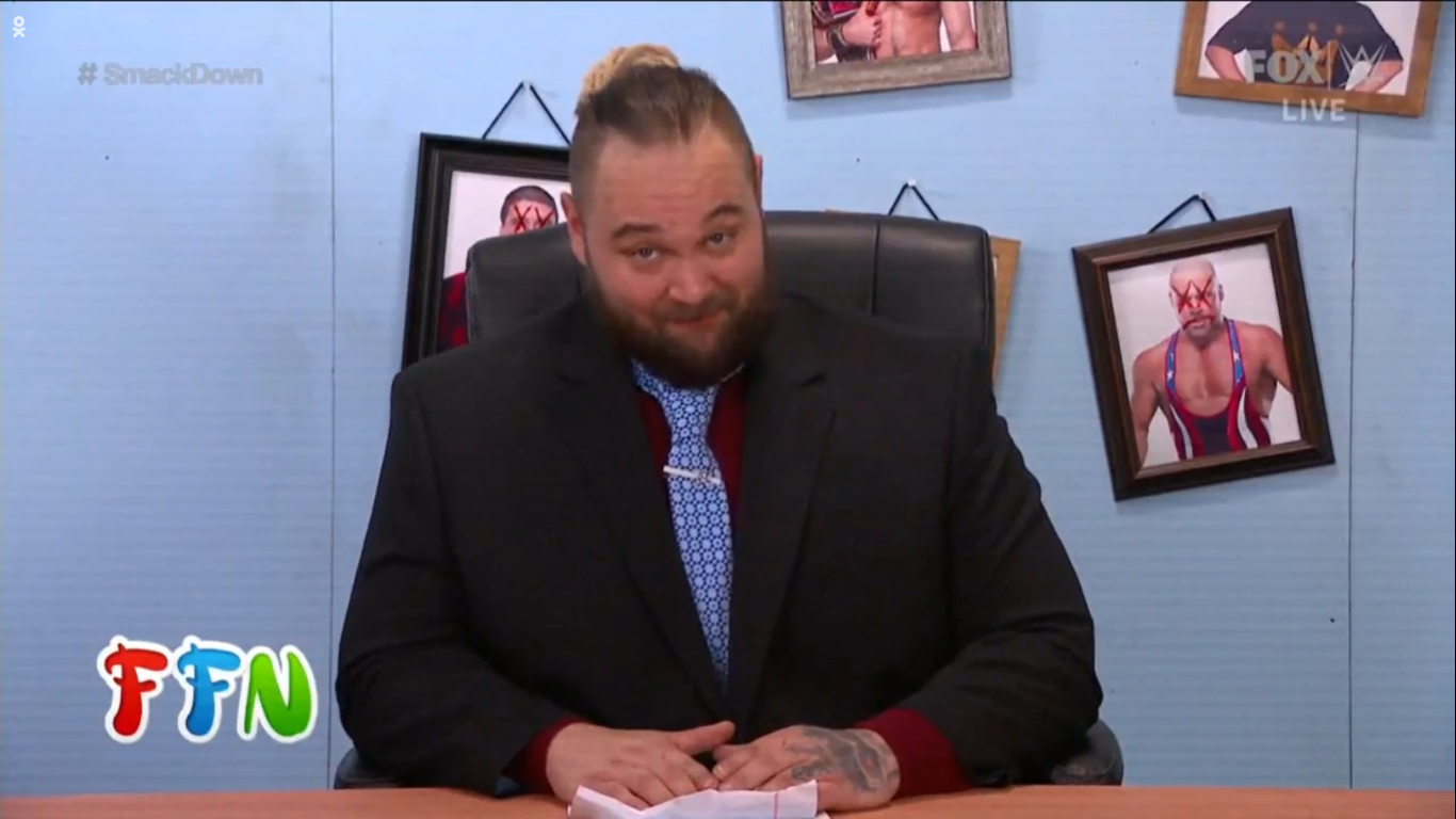 WWE SMACKDOWN (7 de febrero 2020) | Resultados en vivo | Goldberg regresa 26