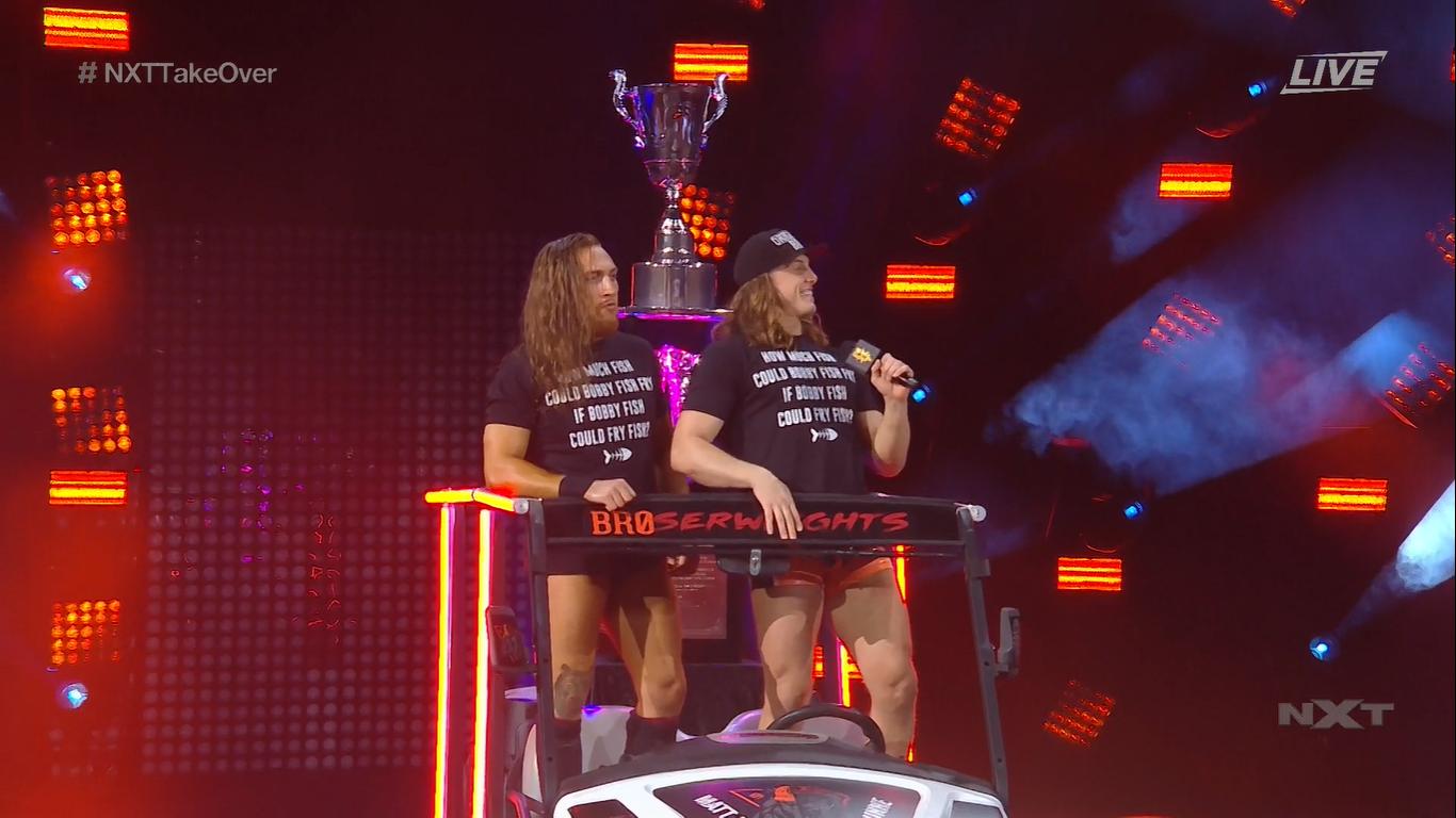 Matt Riddle y Randy Orton