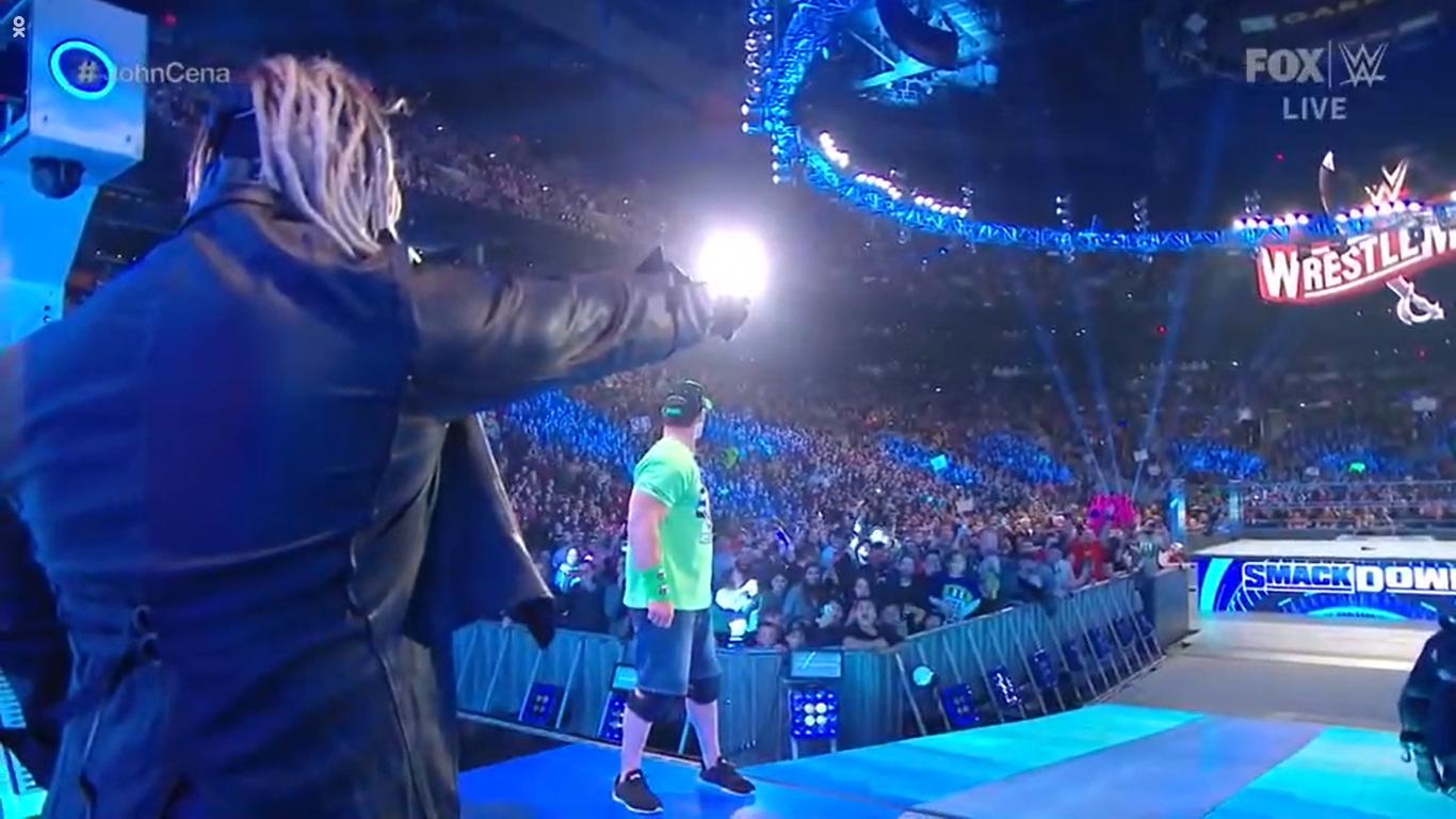 WWE SMACKDOWN (28 de febrero 2020) | Resultados en vivo | Regresa John Cena 36 John Cena vs The Fiend