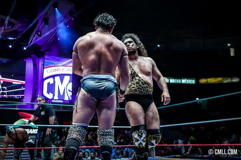 CMLL: Bárbaro Cavernario y Volador Jr. 2a pareja increíble finalista 5