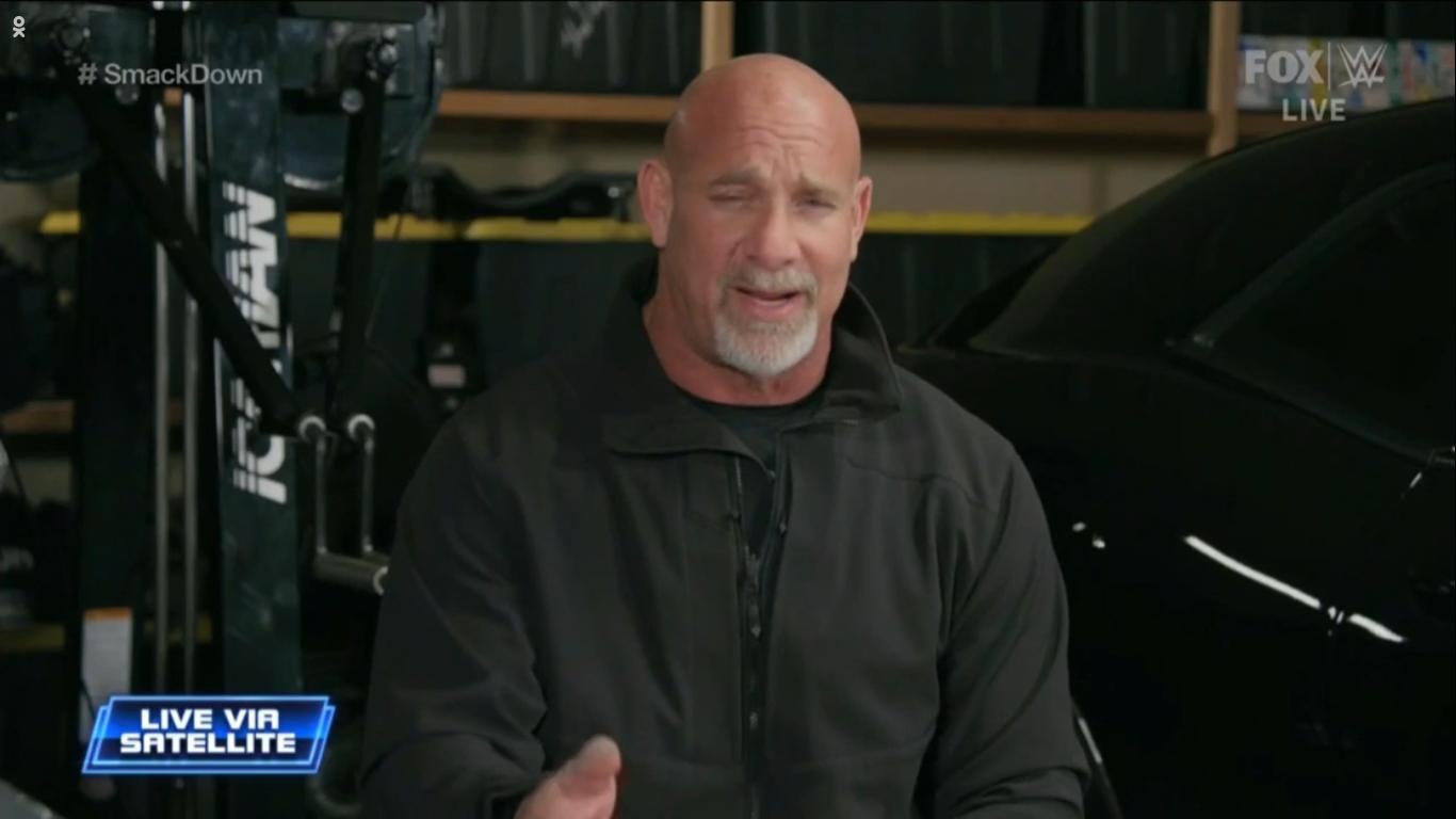 WWE SMACKDOWN (7 de febrero 2020) | Resultados en vivo | Goldberg regresa 25