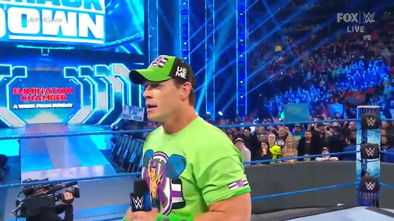 WWE SMACKDOWN (28 de febrero 2020) | Resultados en vivo | Regresa John Cena 33 John Cena vs The Fiend