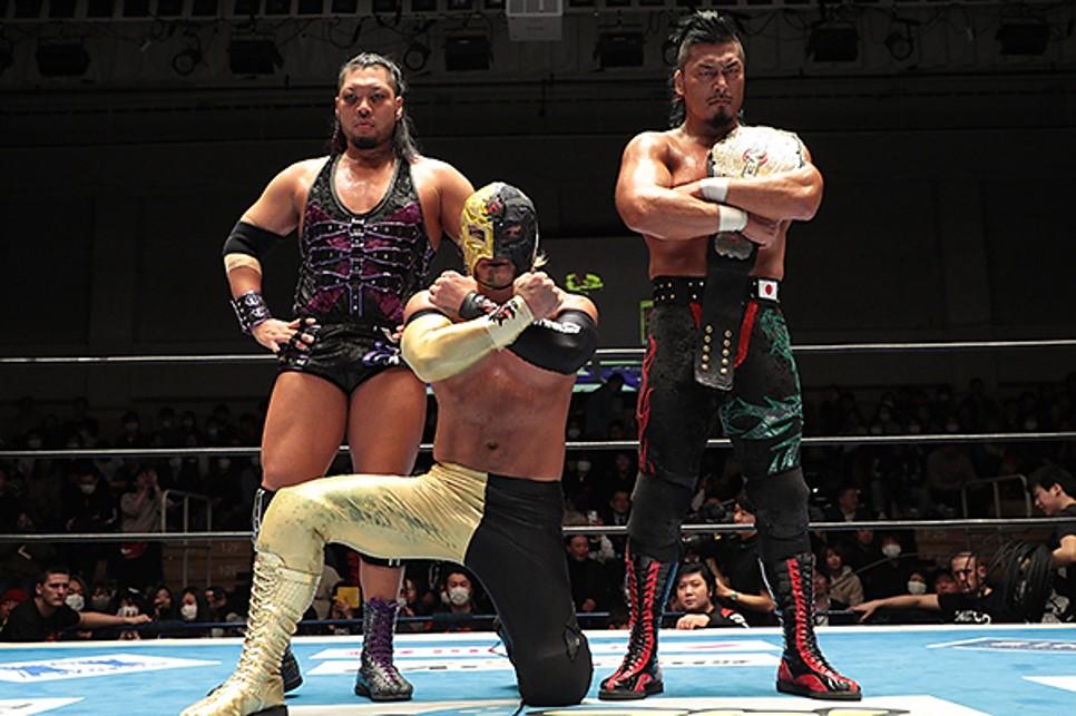 """NJPW: """"Road to the New Beginning 2020"""" LIJ defiende título de tercias 5"""
