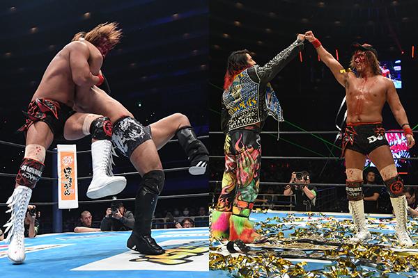 "NJPW: ""The New Beginning in Osaka"" Monarcas confirman su dominio 4"