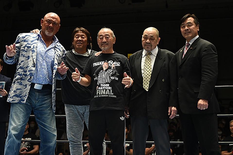 NJPW: El retiro de Tiger Hattori 1