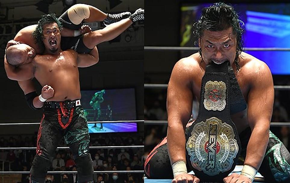 "NJPW: ""New Japan Road 2020"" Shingo Takagi defiende su cetro 2"